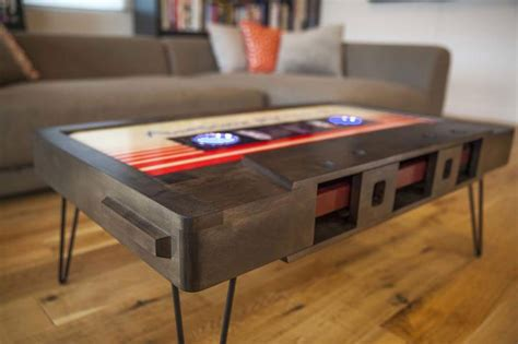 cassette coffee table these retro cassette coffee tables are awesome