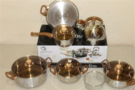 Panci Set Oxone Eco Cookware Set Ox 933 ox 933 panci oxone eco cookware set alat masak stainless