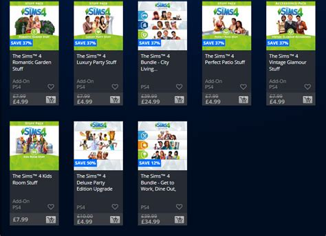 console play store the sims 4 console eu playstation store sale