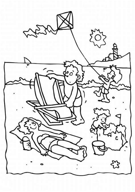 summer safety coloring pages az coloring pages
