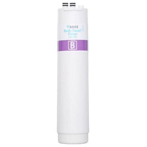 brita sink water filter brita redi twist sink replacement filter wfusf202