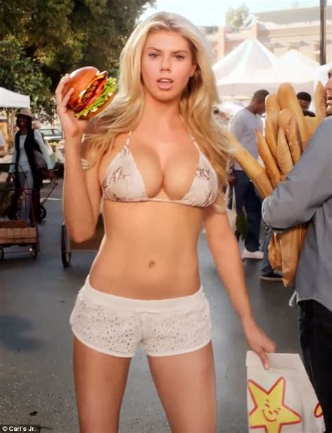 House Plans For Narrow Lot by Carl S Jr Model Charlotte Mckinney Teases A Hint Of