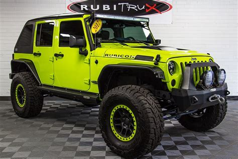 jeep rubicon green 2017 jeep wrangler rubicon unlimited hyper green
