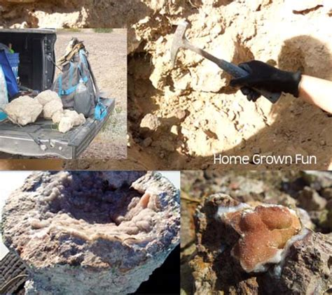 How To Find Looking For What Is A Geode And How Do You Hunt For Geodes Home Grown