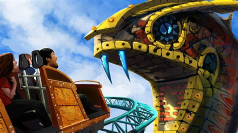 Busch Gardens Hours Tomorrow by Cobra S Curse Spinning Coaster Slithers Into Busch Gardens