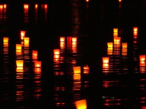 candele foto kostenloses foto kerzen lichter fluss schwimmen