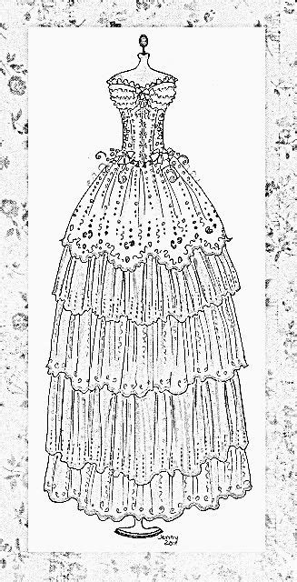 coloring pages of pretty dresses pretty dresses pages coloring pages