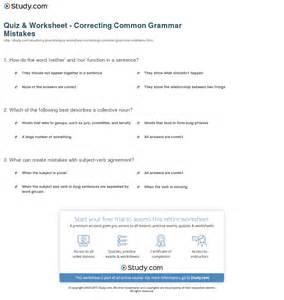 grammatical errors worksheets abitlikethis