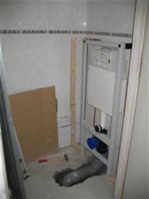 zwevend toilet aan gipswand toiletrenovatie zwevend toilet plaatsen