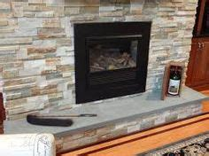beachwalk split face slate panel ledger stacked fireplace bay and appleton brick and fireplaces 187 stack