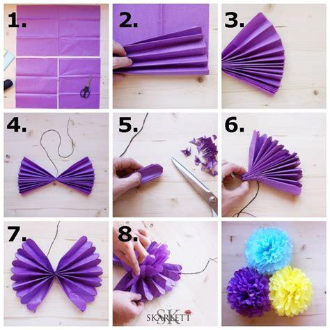 como hacer decoraciones con papel las 25 mejores ideas sobre decoraciones de papel crep 233 en