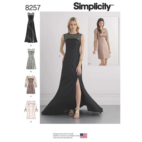 pattern review uk simplicity simplicity pattern 8257 misses special