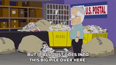 post office mail gif by south park find on giphy