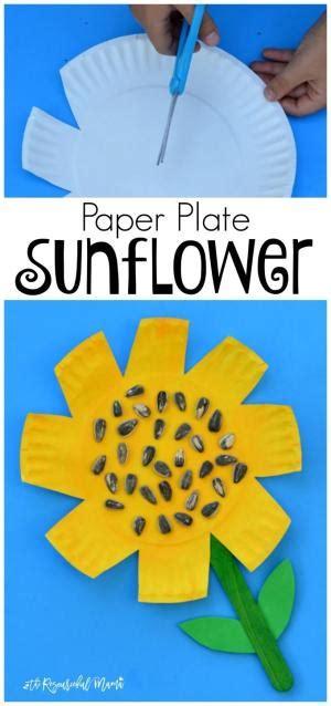 Craft Work With Paper Plate - silly kindergarten craft preschool crafts for