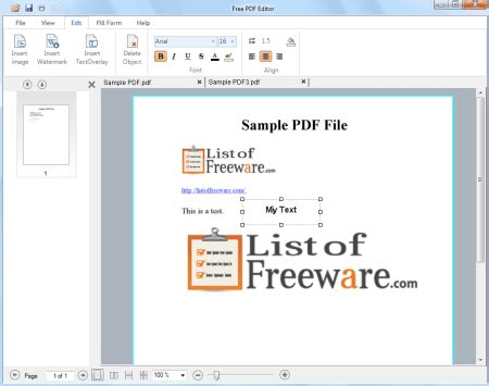 best program to edit pdf 10 best free pdf editor software