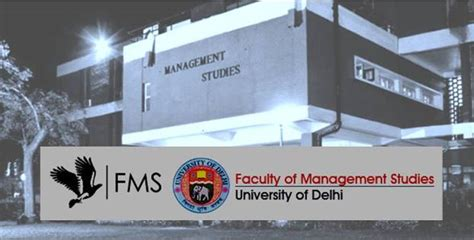 Fms Delhi Part Time Mba Eligibility by Fms Delhi Announces Results Of Mba Time 2017 Programme