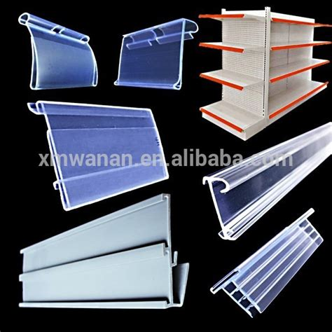 Shelf Price by Supermarket Plastic Shelf Price Pvc Extrusion