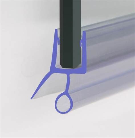Shower Seals For Curved Glass Doors Shower Screen Seal For 4 6mm Glass Door Bath Panel Ebay