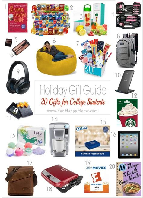 Gift Card Ideas For College Students - these gift ideas for college students are practical useful entertaining