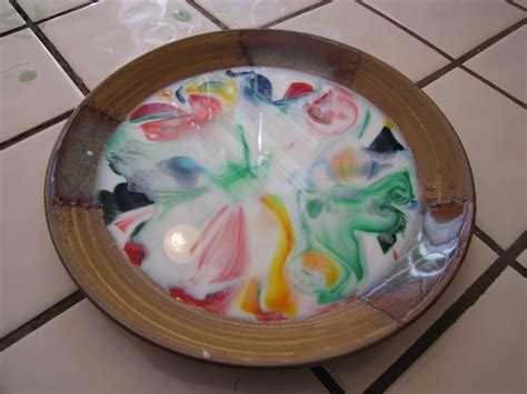 food coloring and milk toddler tuesday milk food coloring soap experiment