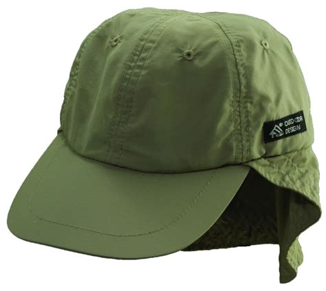 coolmax sun neck shield fishing baseball hat by dorfman