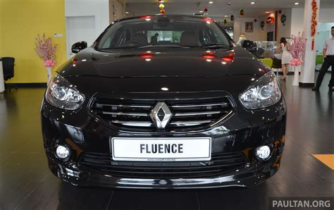 renault fluence black renault fluence black edition launched rm119 888 image