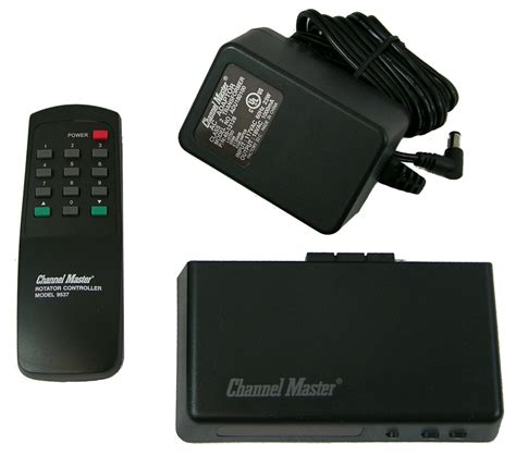 channel master 9537 antenna rotator rotor automatic unit with remote ebay
