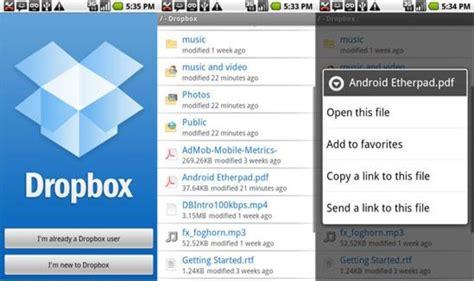 dropbox visa dropbox 228 ntligen till android det l 246 nar sig att klaga