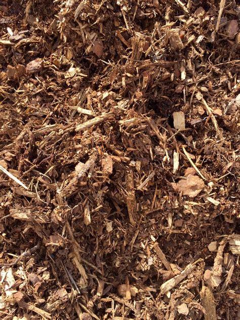 forest floor bark mulch captain compost landscape