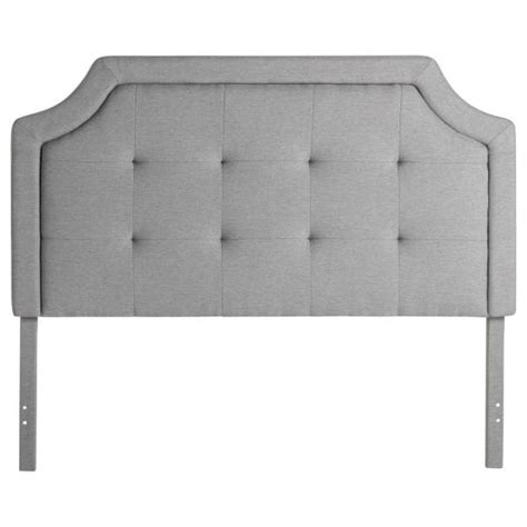 square tufted headboard scooped square tufted upholstered headboard by structures