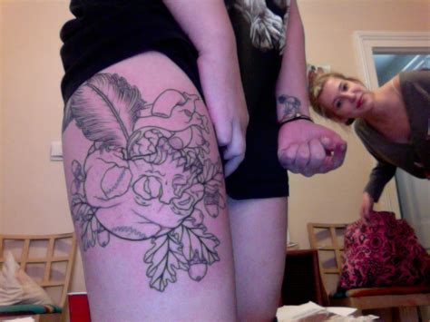inner thigh tattoos today s tuesday v 92