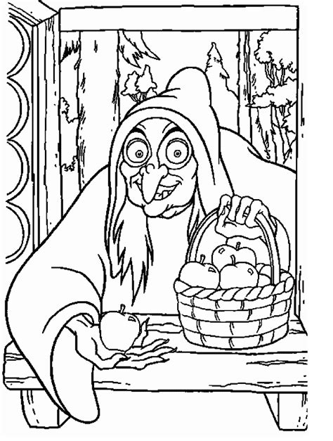 disney villains coloring book page coloring pages