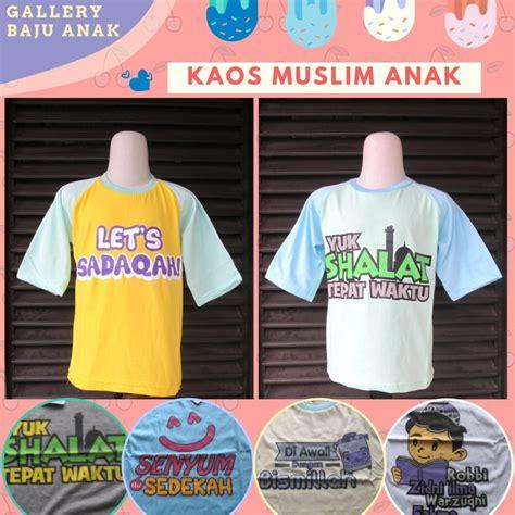 Distributor Kaos Muslim Anak Karakter Terbaru Murah di Bandung Rp.15.500   BANDARBAJU.COM