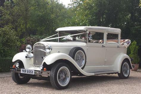 Wedding Car Essex by Brenchley Landaulette Wedding Car Hire Essex Provided By