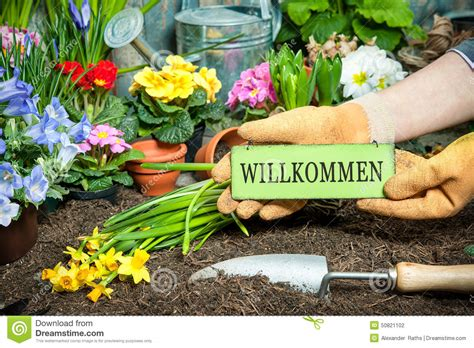 welcome to the flower garden welcome to my garden stock photo image 50821102