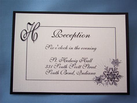 wedding invitation reception card exles reception card sle pertamini co