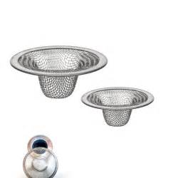Kitchen Sink Drain Catcher by 2 Pc Stainless Steel Mesh Sink Strainer Drain Stopper Trap