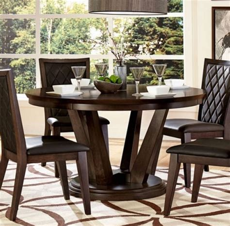 villa vista 5157 54 dining table by homelegance home elegance villa vista walnut dining table