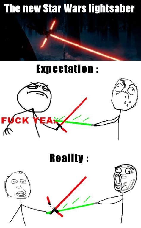 Lightsaber Meme - crossguard lightsaber meme