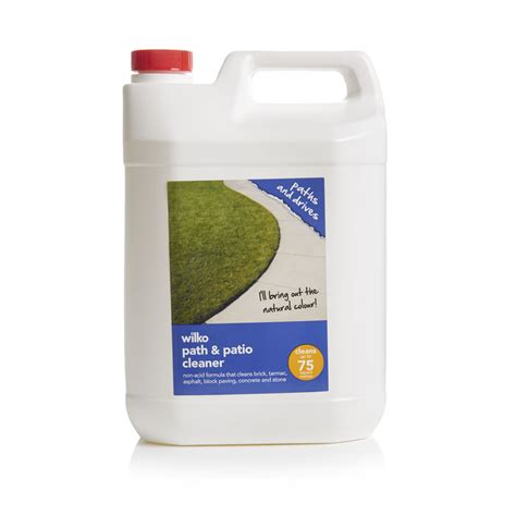 wilko path patio cleaner 5l at wilko