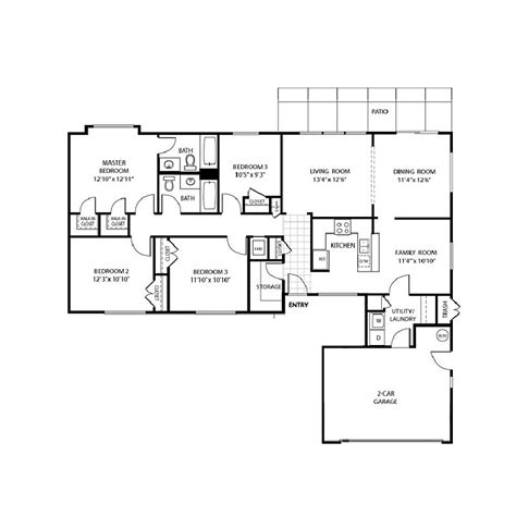 murphy canyon military housing floor plans canf4 floorplans canyon view murphy canyon lincoln