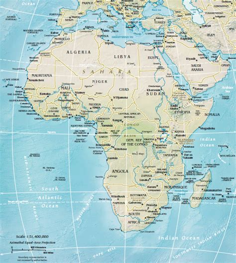 africa map cape of where is cape verde located on the map