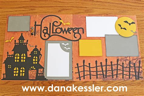 scrapbook layout ideas for halloween ctmh artbooking halloween layouts make something