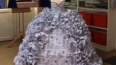 How To Make A Wedding Dress Out Of Toilet Paper - want a wedding dress made of divorce papers