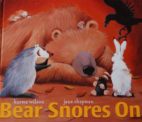 bear snores on bear snores on bookworm bear