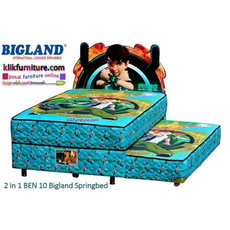 Kasur Stanford Pillow Top 100x200x30 Cm Musterring Bed big land springbed 2 in 1 ben 10 harga promo termurah diskon spesial