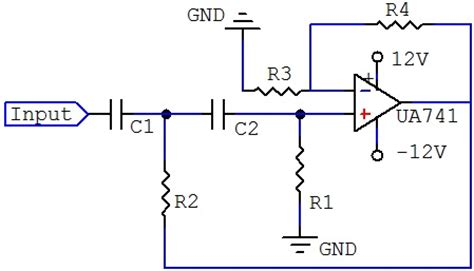 high pass filter circuit high p filter schematic get free image about wiring diagram