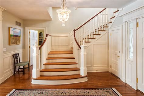 wainscoting ideas stairs staircase traditional  wall paneling wall paneling wall paneling