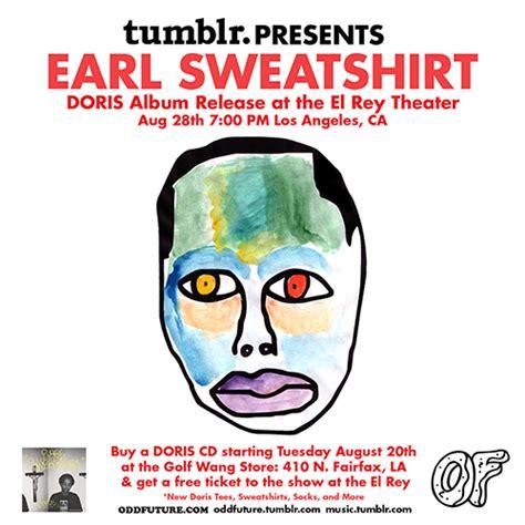 earl sweatshirt doris full album earl track by track promo oft