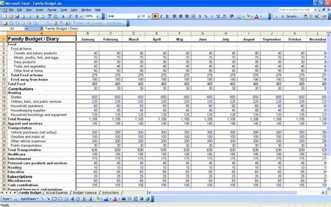 Sle Budget Excel Spreadsheet by 28 Exle Of A Budget Spreadsheet Business Budget Sles